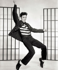 Elvis Shaking Yoga
