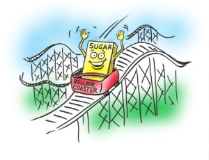 Get off the blood sugar rollercoaster before it's too late!
