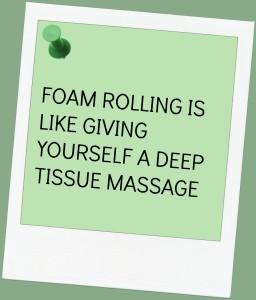 Foam Rolling Deep Tissue Massage