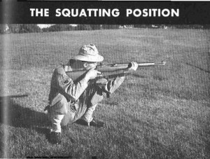 Shooting Squatting position