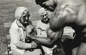 Arnie Biceps Grannies