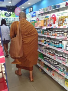 Monk in Boots