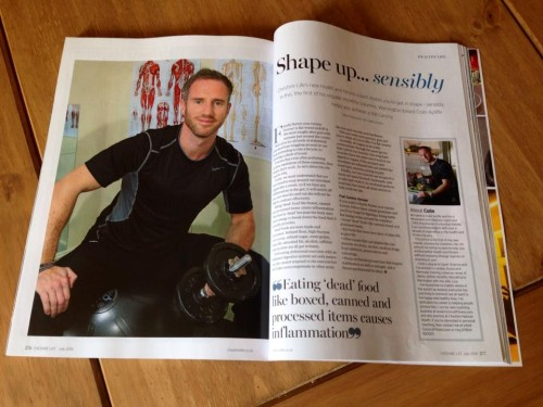 Colin Ayliffe Mobile Personal Trainer Cheshire Life