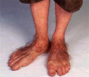 Hobbit Flat Feet