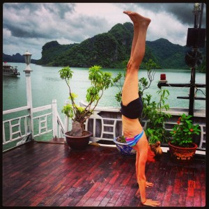Caroline Layzell Serenity Yoga Coconut Fitness