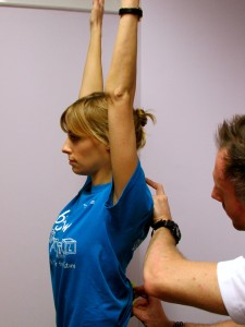Thoracic Arm Raise CHEK