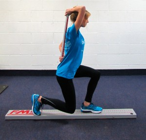 Inline Lunge FMS