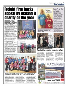 The Chester Standard 12/05/15 (Click to enlarge).