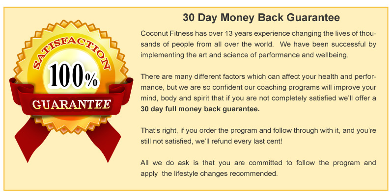 coaching-no-brainer30 Day Guarantee